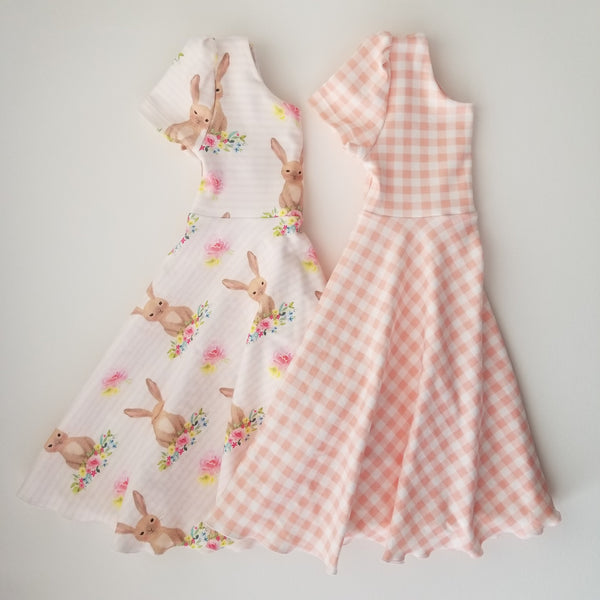 Easter Bunny Twirl Dress