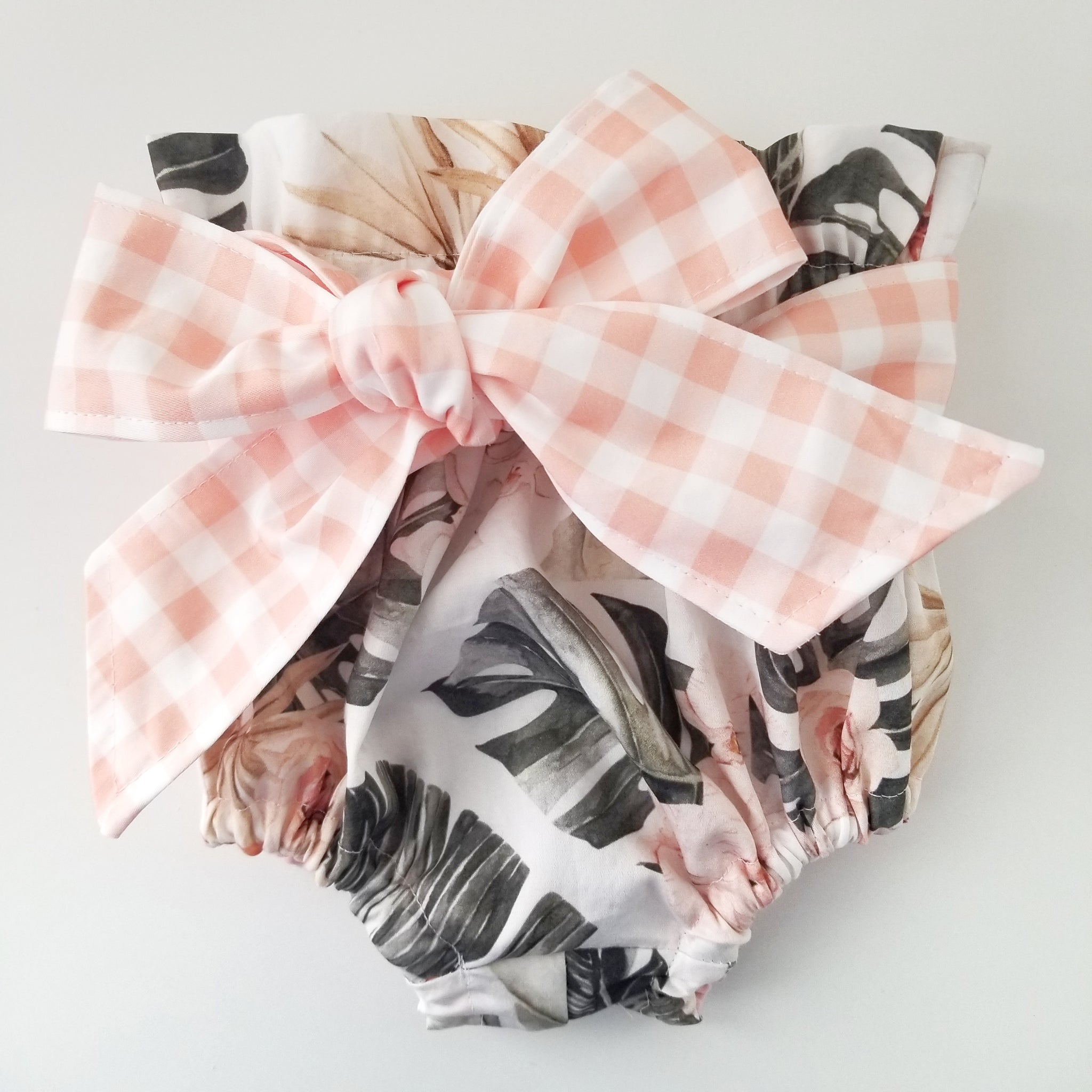 Gingham Belted Boho Bloomers