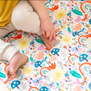 Sunshine and Rainbows Baby Bedding