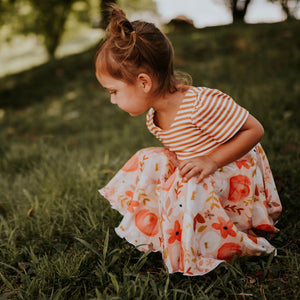 Fall Florals Twirl Dress