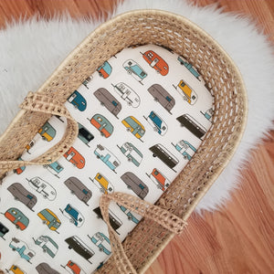 Happy Camper Organic Baby Bedding