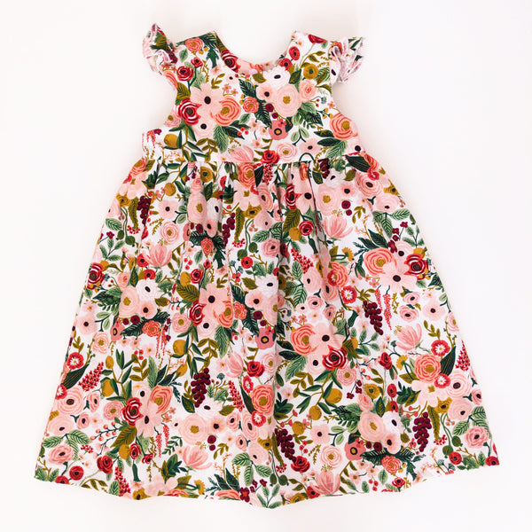 Rose Garden Party Rifle Paper Co. Print Dress