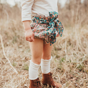 Rosa Floral Belted Bloomers