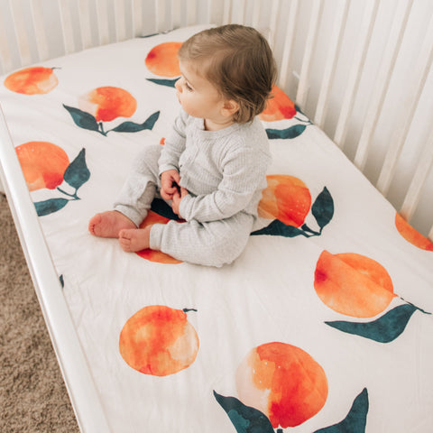 Jumbo Citrus Baby Bedding