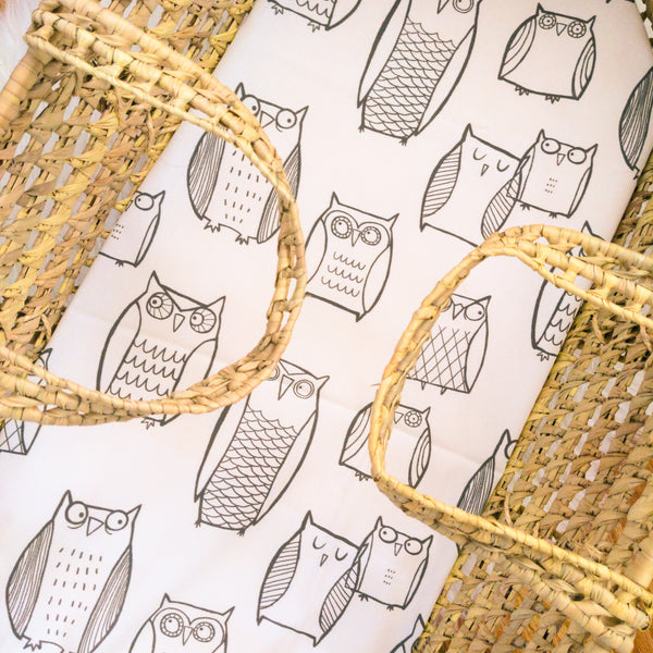 Woodland Owl Baby Bedding