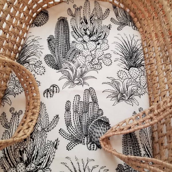Illustrated Cactus Baby Bedding
