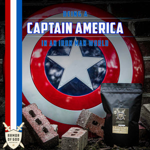 Being a Captain America in an Iron Man world