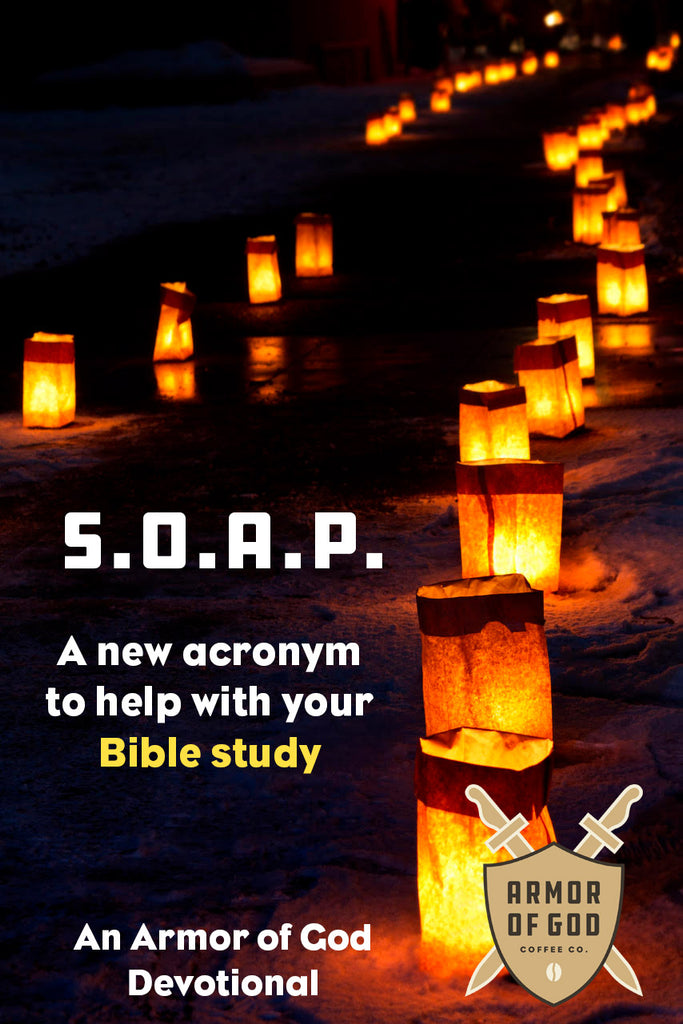 Using SOAP with your Bible study