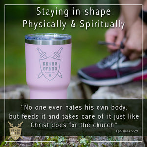 Staying in shape—physically and spiritually