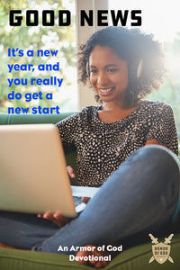 Good news: It's a new year, and you really do get a new start