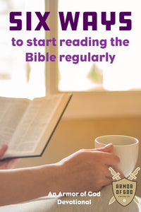 Six ways to start reading the Bible regularly