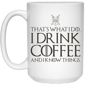 GoT Coffee - 15 oz. White Mug