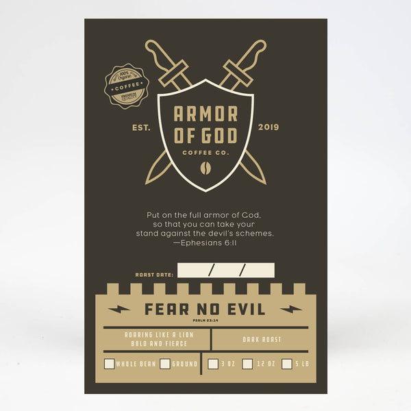 Fear No Evil - Dark Roast Coffee