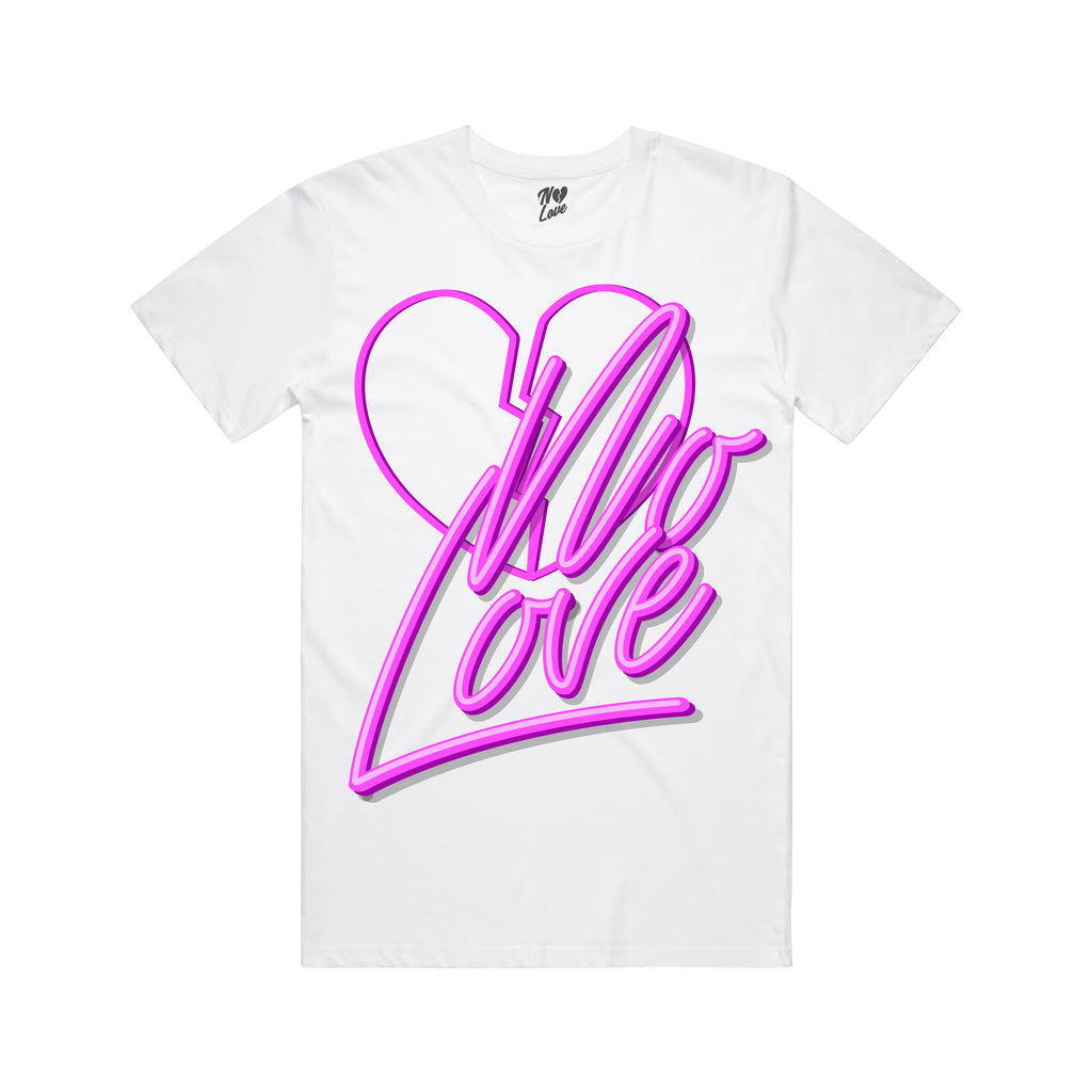 Light Up T-Shirt - White