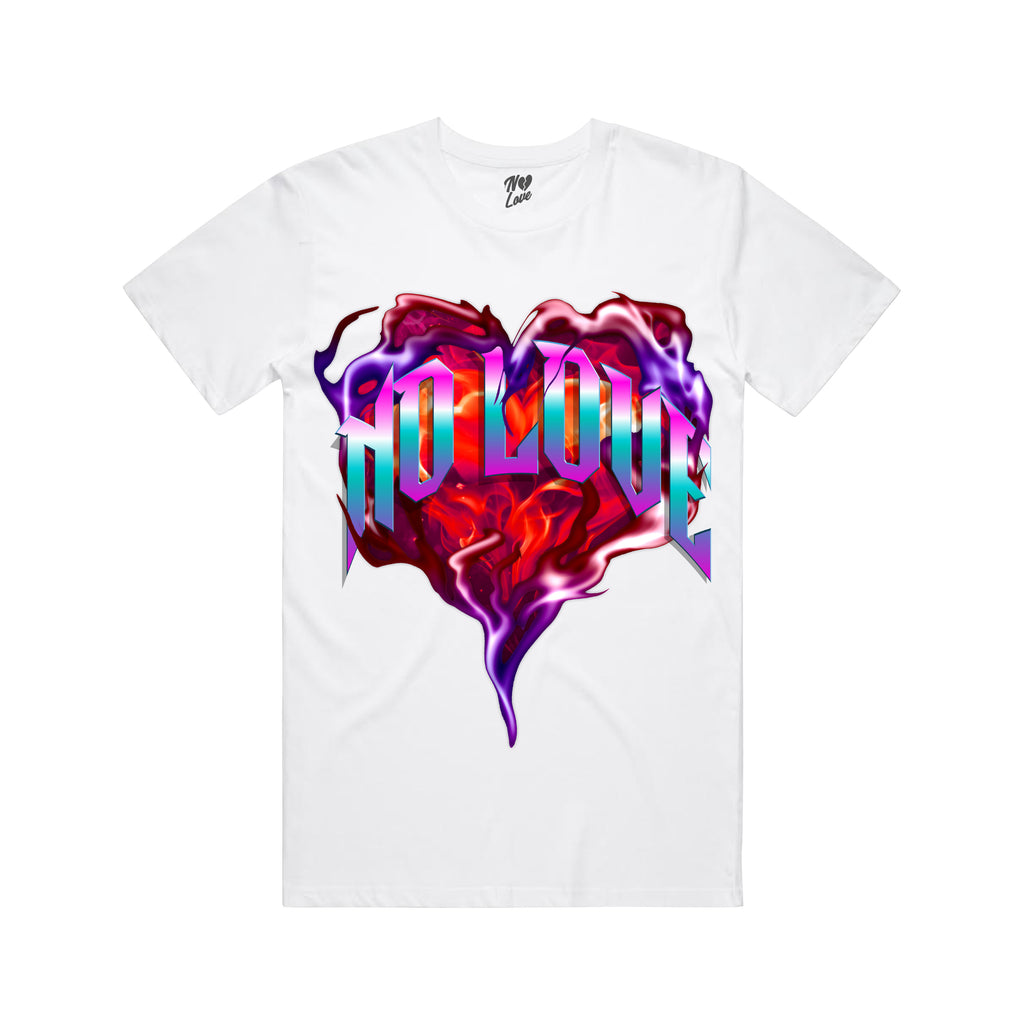 Burning T-Shirt - White