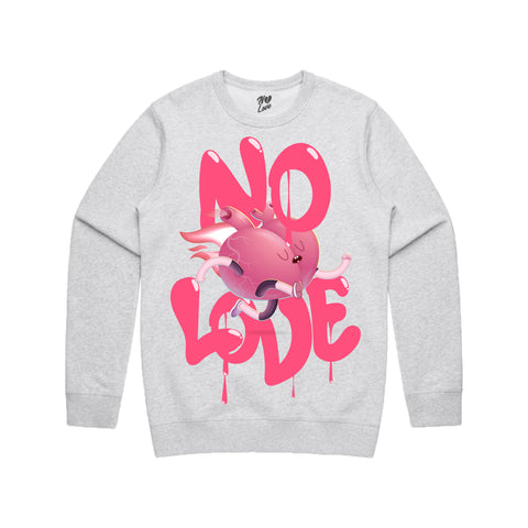 Never Loved Crew Neck - Heather Grey