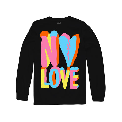 Pastel Long Sleeve - Black