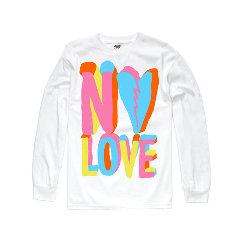 Pastel Long Sleeve - White