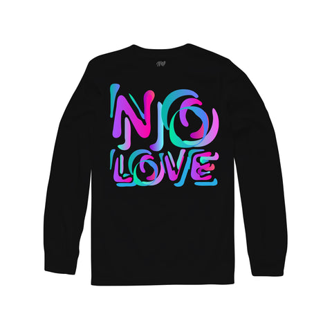 Stencil Long Sleeve - Black