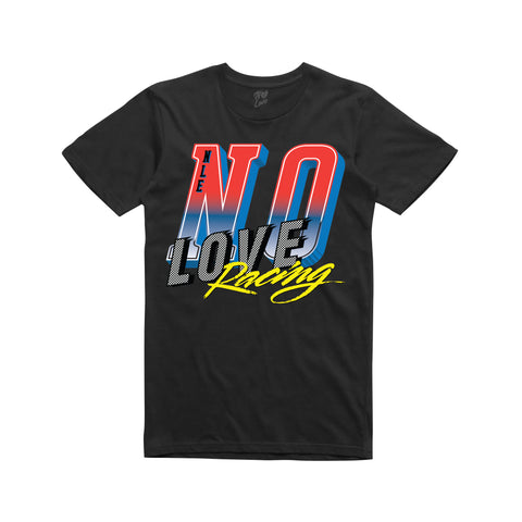 No Love Racing T-shirt - Black