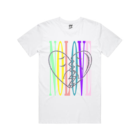 Mash Up T-shirt - White