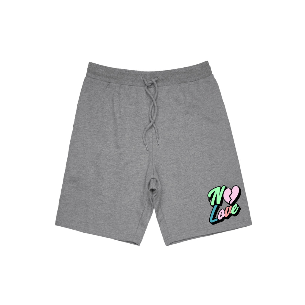 No Love Jogger Short - Grey