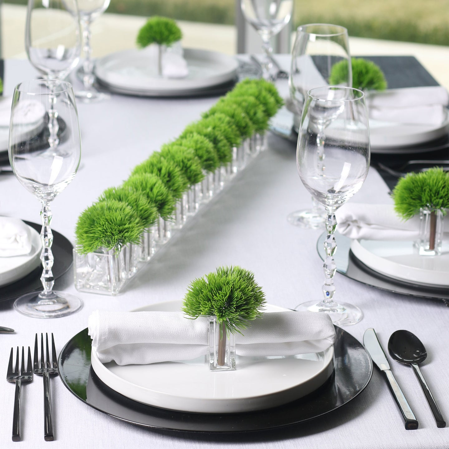 Spring Grass Store+Decor Napkin Ring System