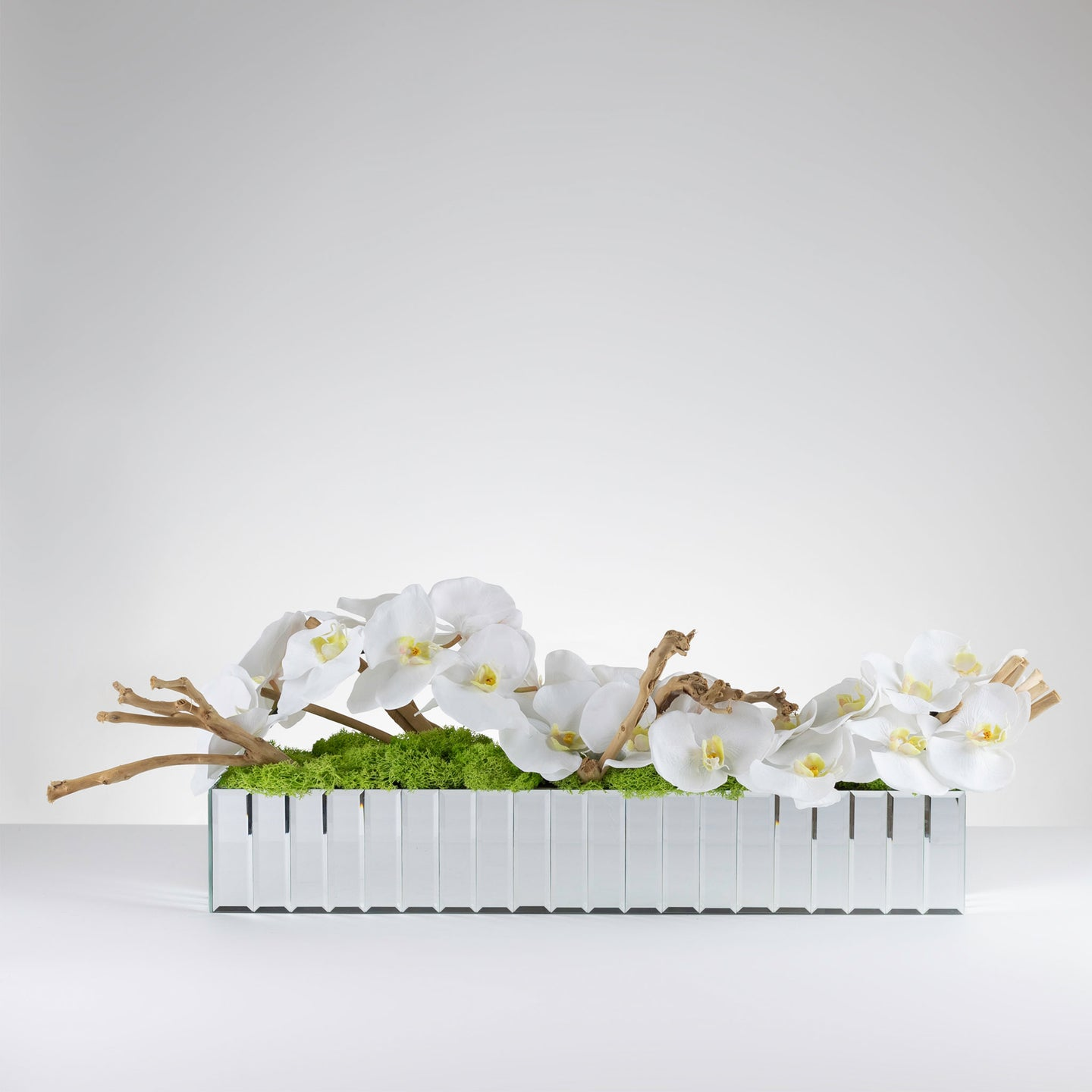 Driftwood Orchid- White   Item # 834