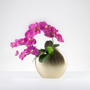Orchid Crescent Medium-Fuschia  Item # 809