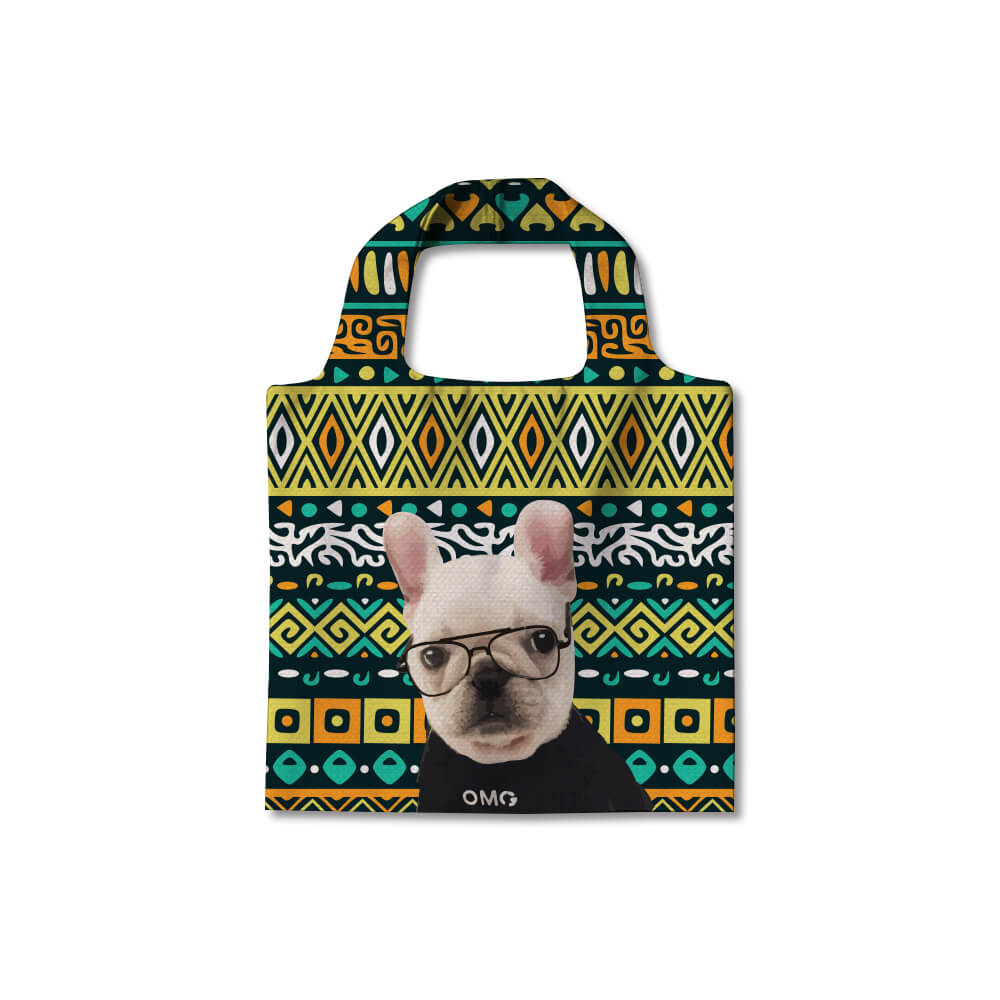 Custom Pet Canvas Handbag Shopper(Width) - Pet Art Pet Memorial Ideas