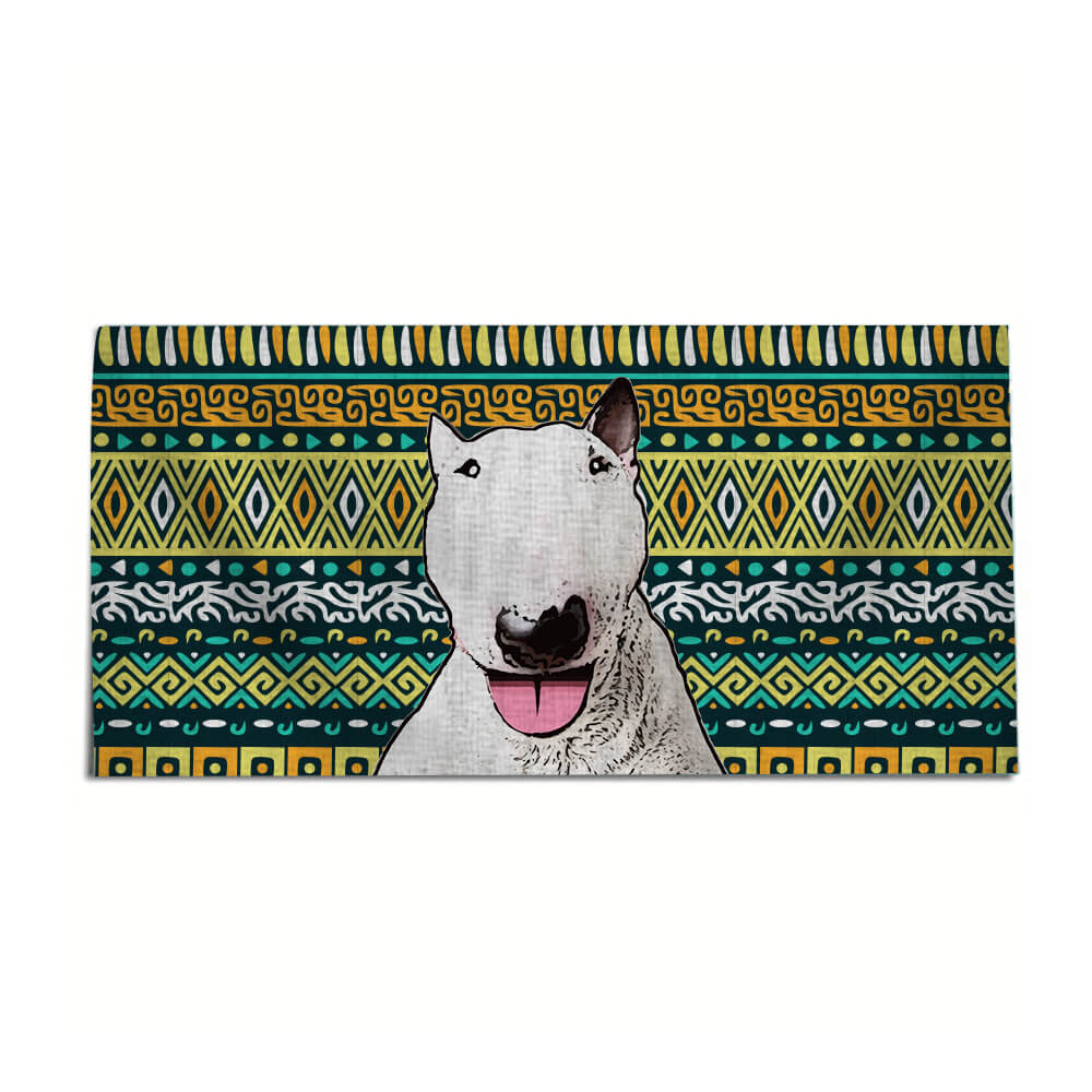Custom Pet Art Beach Towel - Pet Art Pet Memorial Ideas