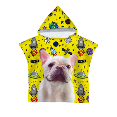 Custom Pet Art Hoodie Beach Towel - Kids - Pet Memorial Ideas