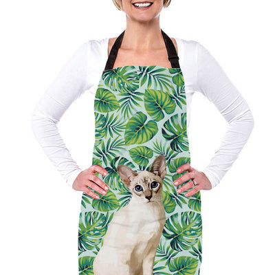 Custom Pet Bake Apron(One Size Fits Most) - Pet Art Pet Memorial Ideas