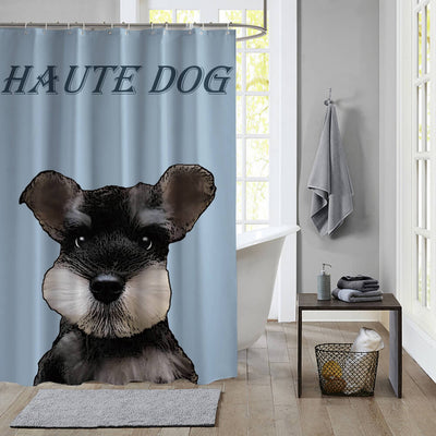 Custom Pet Art Waterproof Shower Curtain - Pet Art Pet Memorial Ideas
