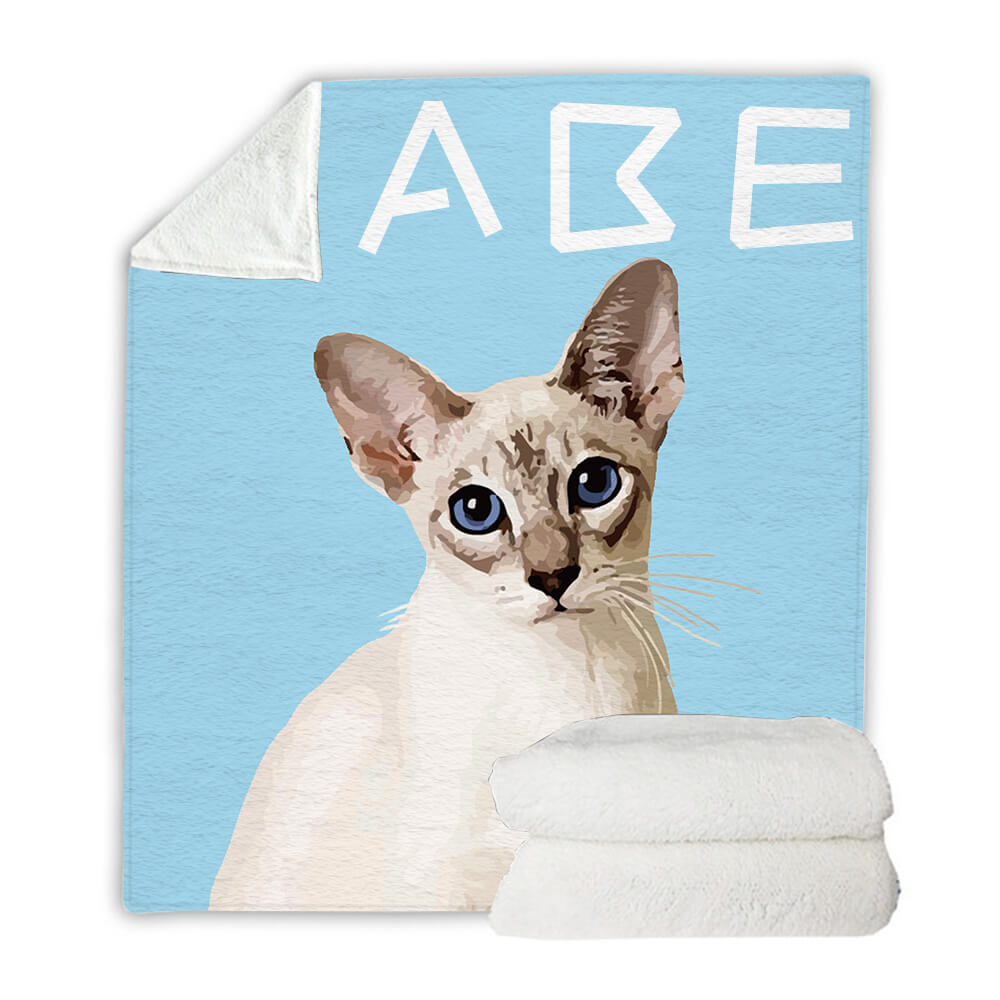 Custom Pet Art Blanket - Pet Art Pet Memorial Ideas