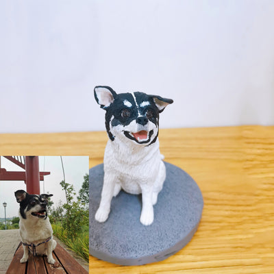 Custom Pet Polymer Clay Figure
