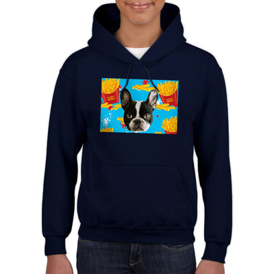 Custom Pet Art Hoodies - Kids(Standard Fitted) - Pet Art Pet Memorial Ideas