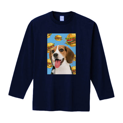 Custom Pet Art Long Sleeve - Unisex(Standard Fitted) - Pet Memorial Ideas
