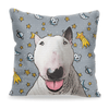 Custom Pet Art Pillow Cover 18inx18in - Pet Memorial Ideas