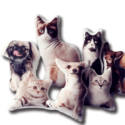 Custom Pet Shaped Pillow