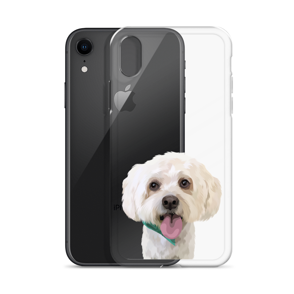 Custom Pet iPhone Clear Case