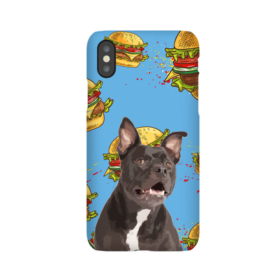 Custom Pet iPhone Hard Case - Pet Art Pet Memorial Ideas