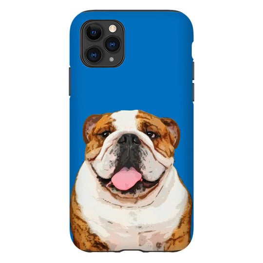 Custom Pet iPhone Double Protective Case (TPU+PC) - Pet Art Pet Memorial Ideas
