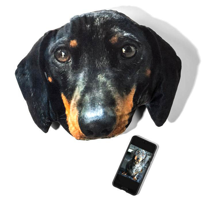 Custom Pet 3D Face Custion Sofa Pillow - Pet Art Pet Memorial Ideas
