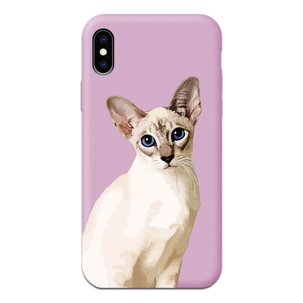 Custom Pet iPhone Candy Case - Pet Art Pet Memorial Ideas