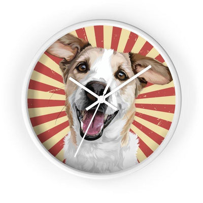 Custom Pet Wall Clock - Pet Memorial Ideas