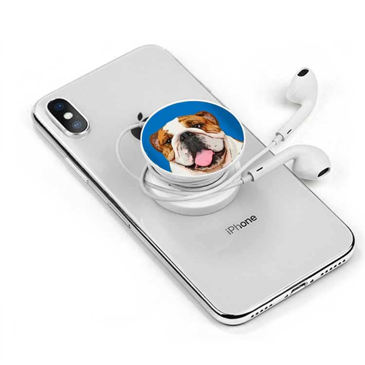 Custom Pet Art Phone Grip - Pet Memorial Ideas