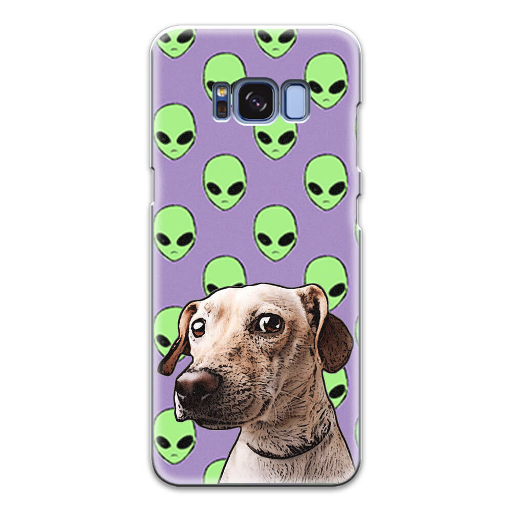 Custom Pet Art Android Matte Case - Pet Art Pet Memorial Ideas