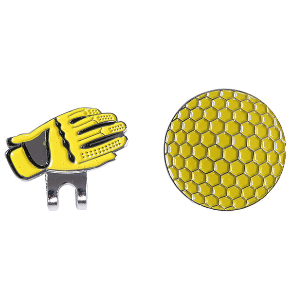 Gloves and  ball