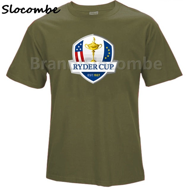 Ryder Cup Golfer Golfing Fathers Day Dad Son T shirt 100% Cotton T-SHIRT